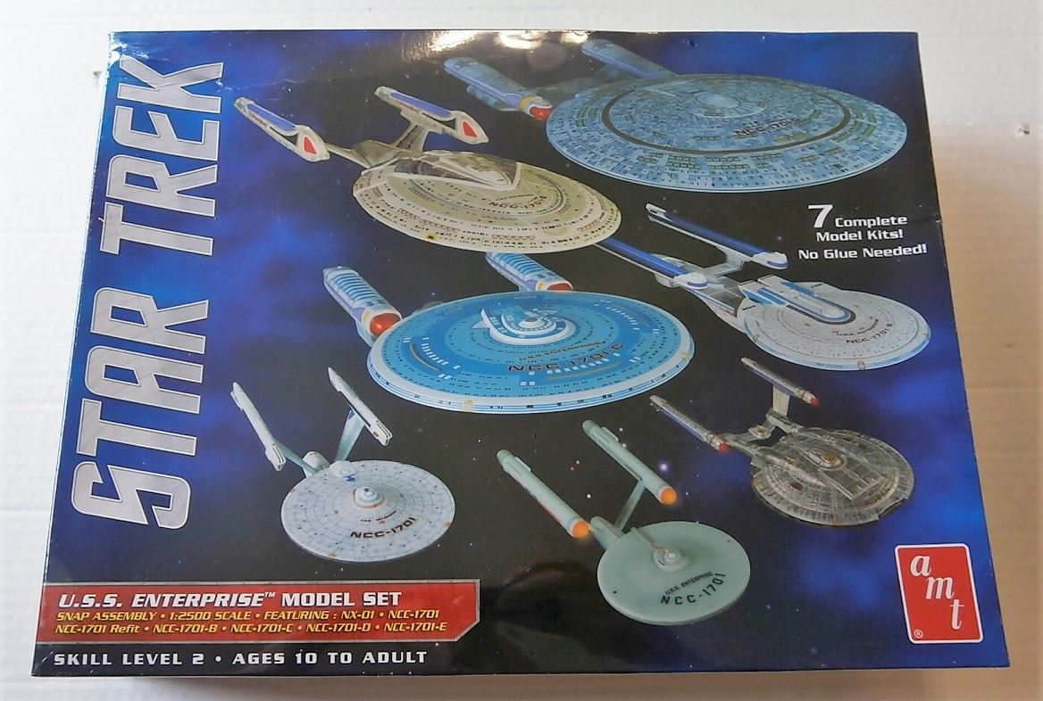 954 USS ENTERPRISE MODEL SET