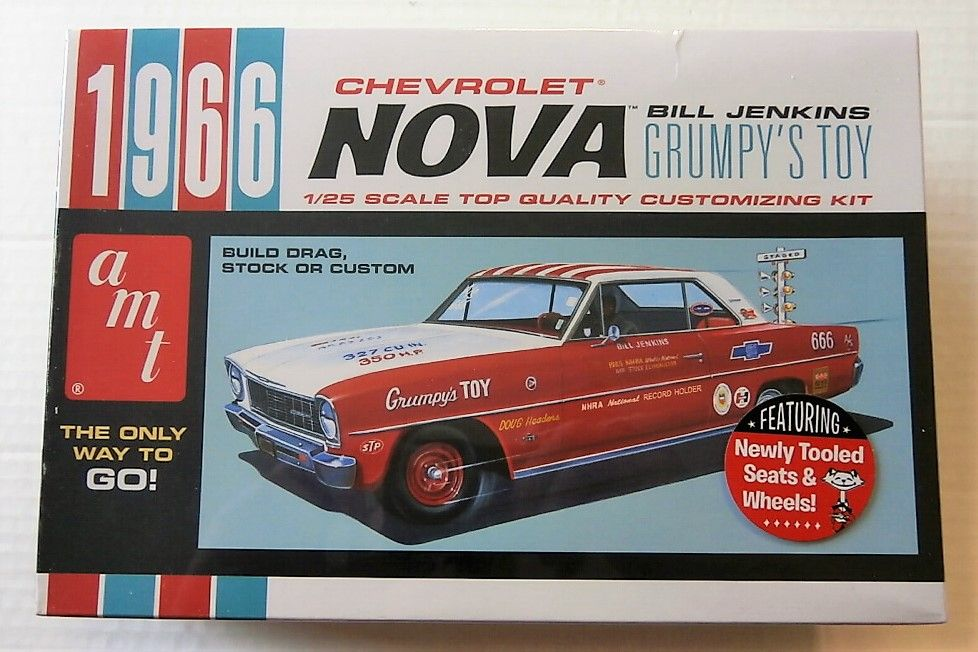 772 CHEVROLET NOVA BILL JENKINS GRUMPYS TOY