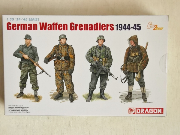 6704 GERMAN WAFFEN GRENADIERS 1944-45