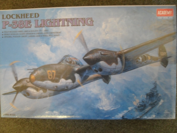 2144 LOCKHEED P-38E LIGHTNING
