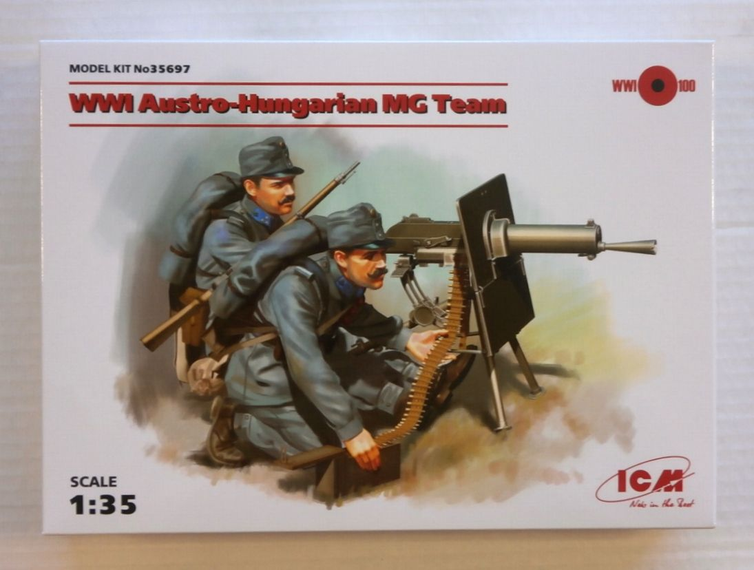 35697 WWI AUSTRO-HUNGARIAN MG TEAM