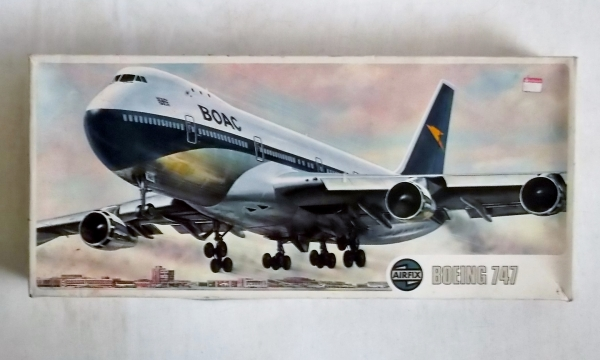 08170 BOEING 747 BOAC LATER
