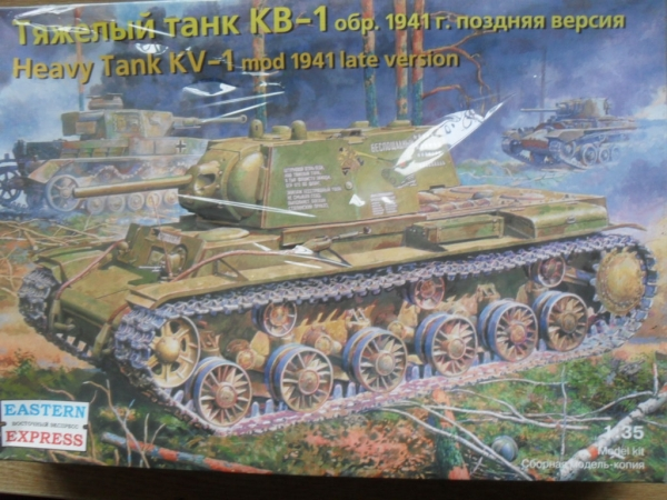 35119 KV-1 Mod.1941 LATE VERSION MERCILESS