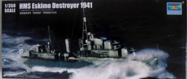 05331 HMS ESKIMO DESTROYER 1941