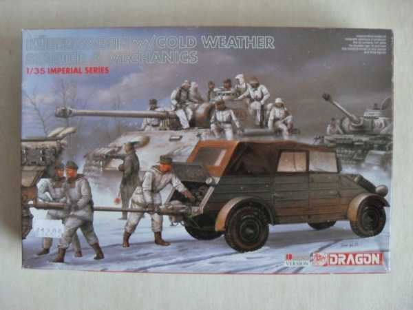 9051 KUBELWAGEN w/COLD WEATHER STARTER   MECHANICS