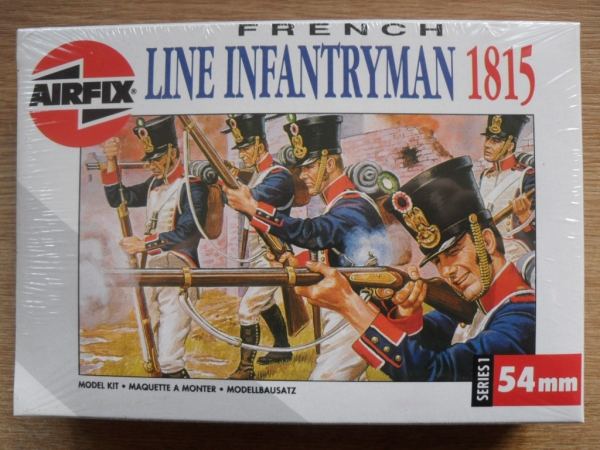 01557 FRENCH LINE INFANTRYMAN 1815