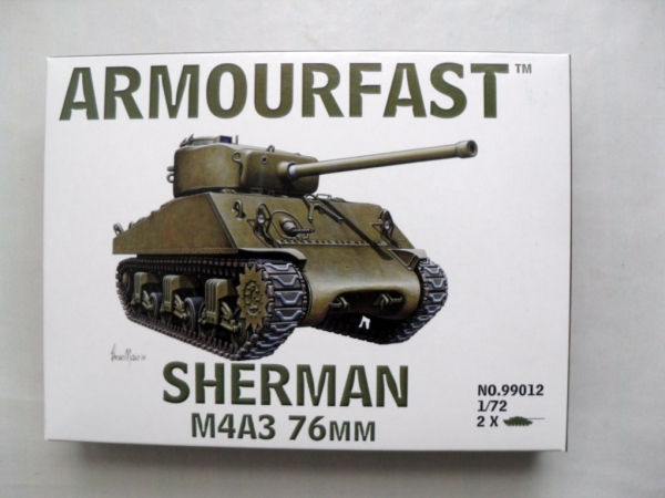 99012 SHERMAN M4A3 76mm