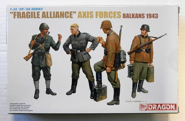 6563 FRAGILE ALLIANCE BALKANS 1943