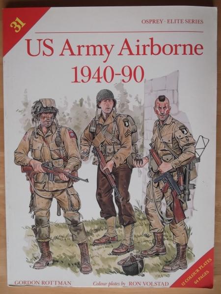 OSPREY ELITE 031  US ARMY AIRBORNE 1940-90