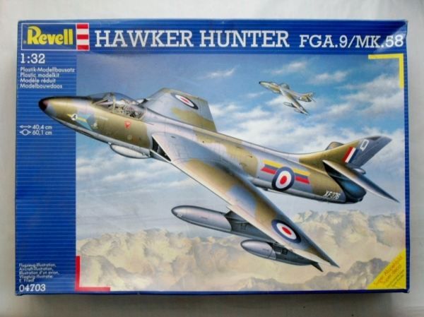 04703 HAWKER HUNTER FGA.9/Mk.58