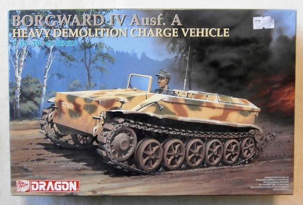 6101 BORGWARD IV Ausf.A HEAVY DEMOLITION CHARGE VEHICLE