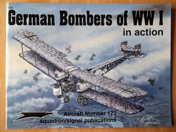 1173. GERMAN BOMBERS OF WWI