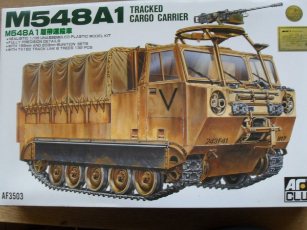 35003 M548A1 TRACKED CARGO CARRIER