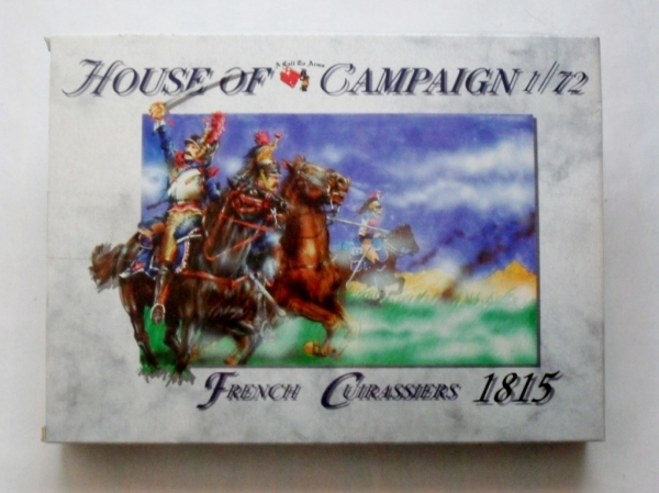 51 FRENCH CUIRASSIERS 1815