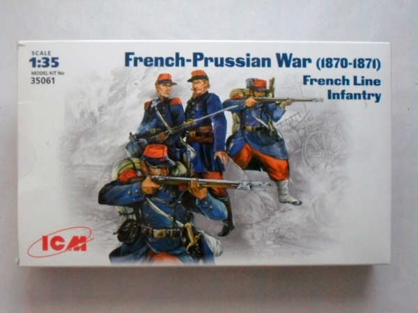 35061 FRANCO/PRUSSIAN WAR - FRENCH LINE INFANTRY