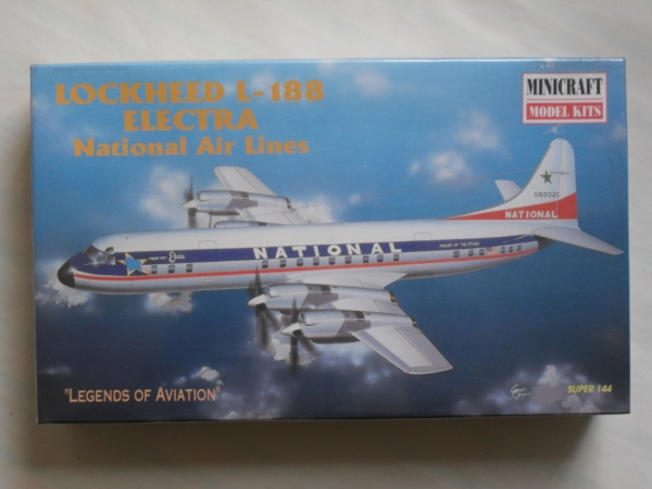 14461 LOCKHEED L-188 ELECTRA NATIONAL AIR LINES