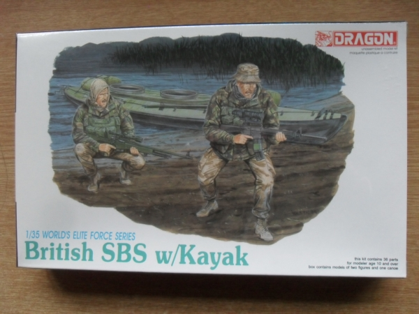 3023 BRITISH SBS w/KAYAK