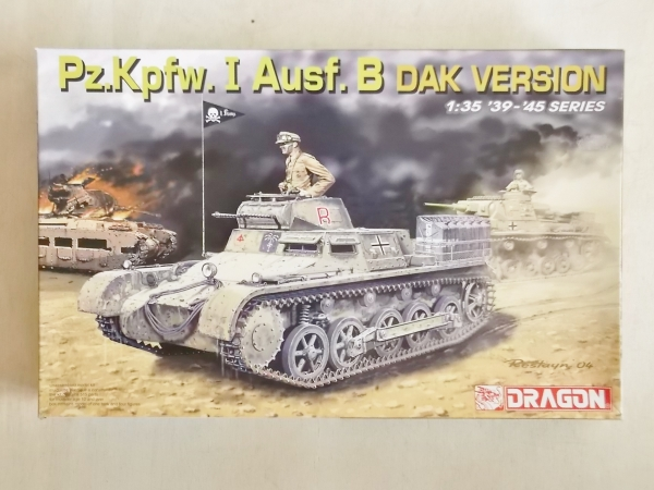 6207 Pz.Kpfw I Ausf.B DAK VERSION