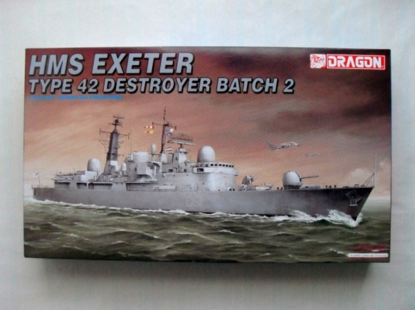 7020 HMS EXETER TYPE 42 DETROYER BATCH 2