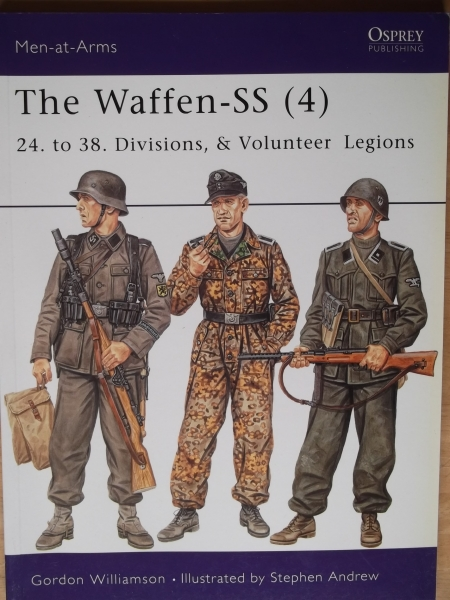 420. THE WAFFEN SS  4  24.to 38. DIVISIONS   VOLUNTEER LEGIONS