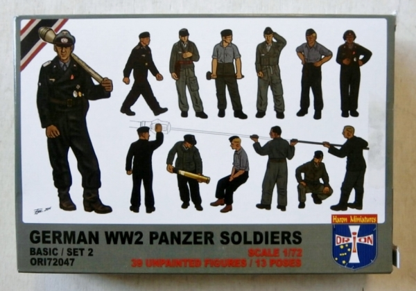 72047 GERMAN WW2 PANZER SOLDIERS SET 2