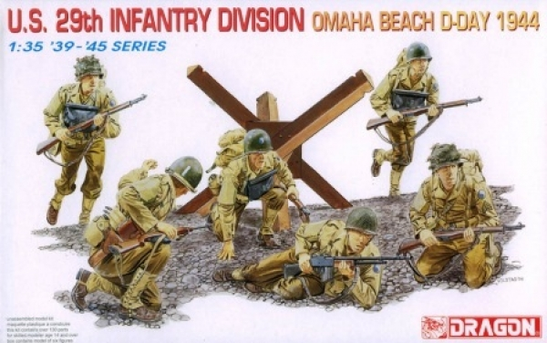 6211 US 29th DIVISION OMAHA BEACH D-DAY 1944