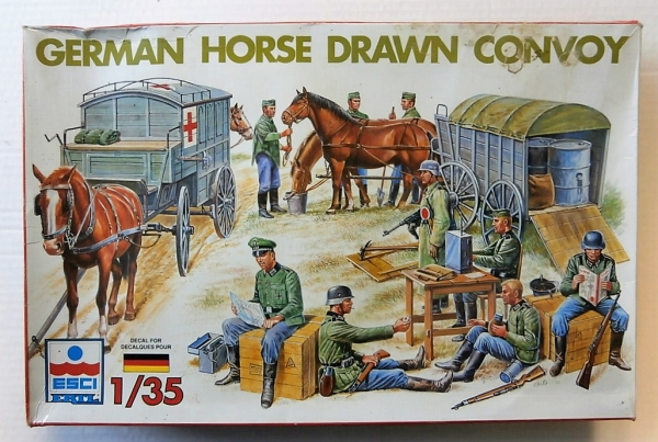5047 GERMAN HORSE DRAWN CONVOY