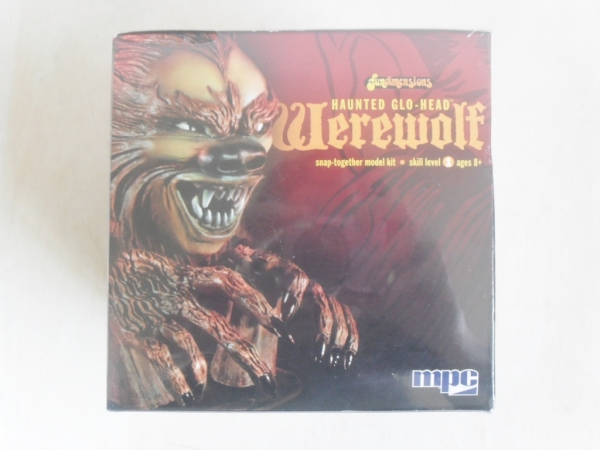 722 HAUNTED GLO-HEAD WEREWOLF