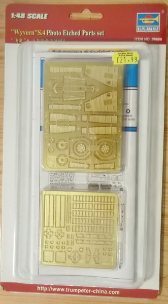 06606 WYVERN S.4 PHOTO ETCHED PARTS SET