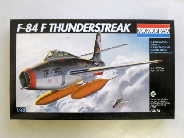 74018 F-84F THUNDERSTREAK