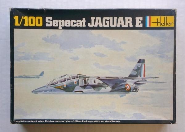 HELLER 1/100 017 SEPECAT JAGUAR E Model Kit