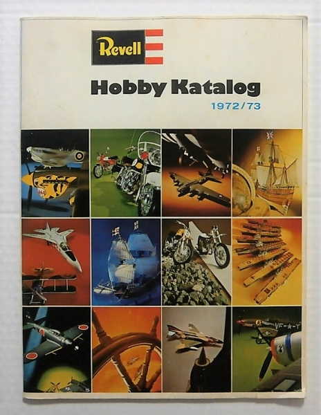 REVELL 1972/73 HOBBY CATALOG GERMAN TEXT