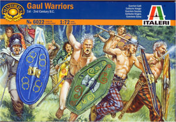 6022 GAUL WARRIORS