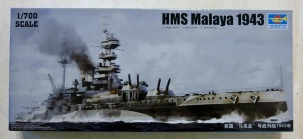 Trumpeter 1//700 05799 HMS Malaya 1943