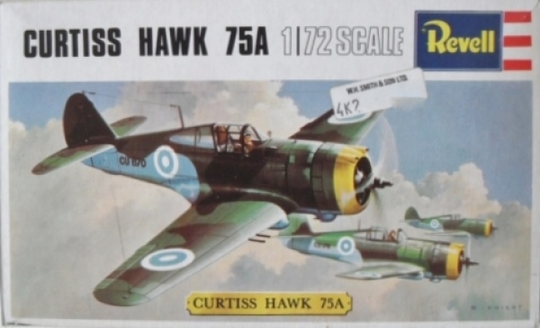 H658 CURTISS HAWK 75A