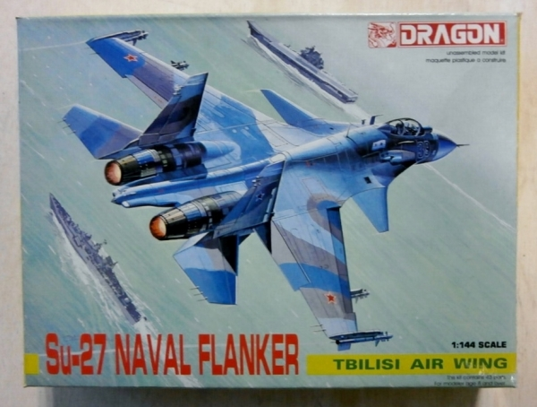 4542 Su-27 NAVAL FLANKER TBILISI AIR WING