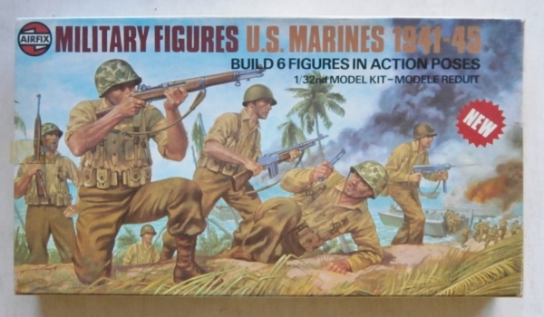 03583 US MARINES 1941-45  6 FIGURES