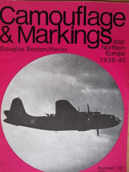 10. DOUGLAS BOSTON/HAVOC RAF NORTHERN EUROPE 1936-45