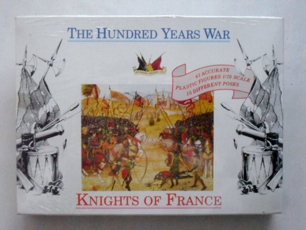 7207 HUNDRED YEARS WAR FRENCH KNIGHTS 1400
