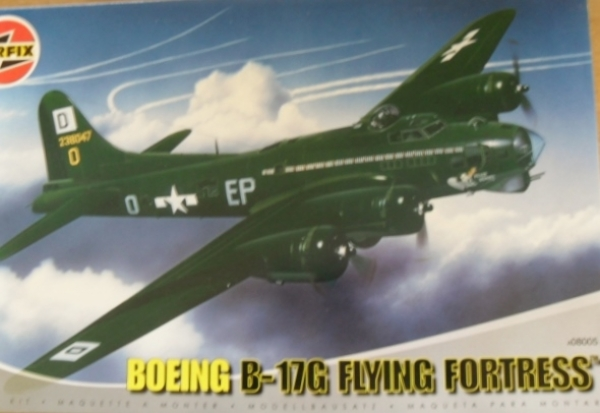 08005 BOEING B-17G FLYING FORTRESS  New Tool