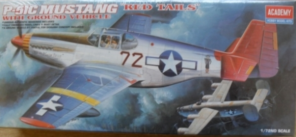 2225 P-51C MUSTANG RED TAILS