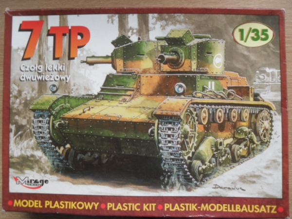 35302 POLISH 7TP TWIN TURRET