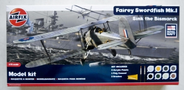 50133 FAIREY SWORDFISH Mk.I SINK THE BISMARCK