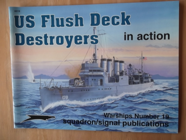 4019. US FLUSH DECK DESTROYERS