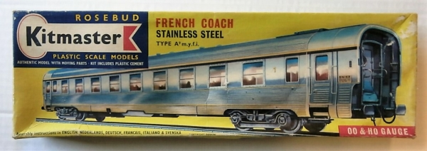 29 FRENCH COACH STAINLESS STEEL TYPE A9 MYFI
