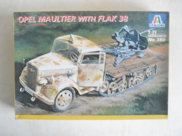 380 OPEL MAULTIER WITH FLAK 38