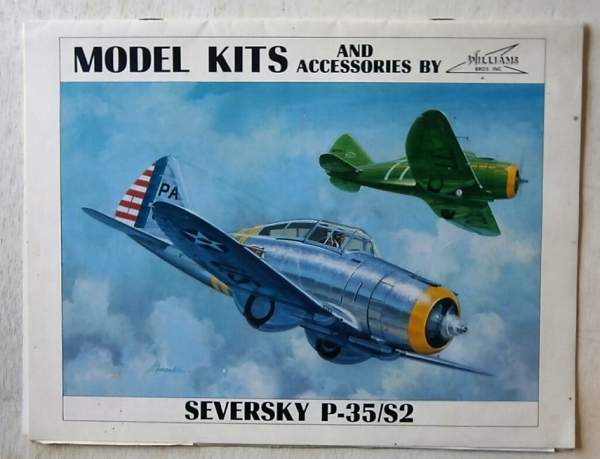 MODEL KITS AND ACCESSORIES BY WILLIAMS BROS  1985