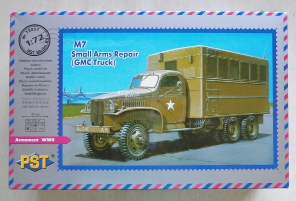 72057 M7 SMALL ARMS REPAIR TRUCK