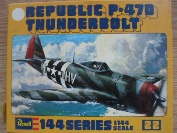 H1022 REPUBLIC P-47D THUNDERBOLT