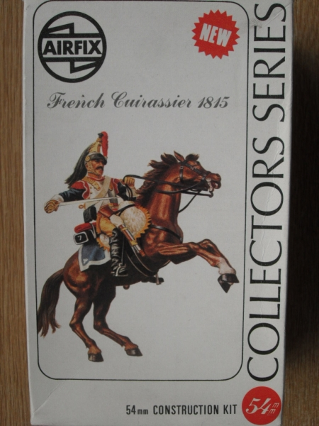 02555 FRENCH CUIRASSIER 1815